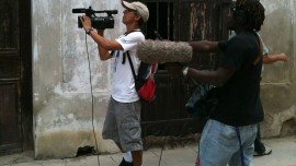 Production of 'Nowhere Man' in Cuba